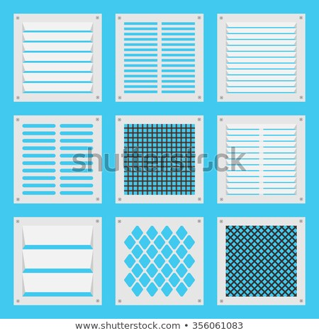Industrial Air Duct and Vent-Vertical Stock photo © pixelsnap