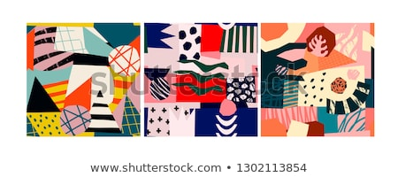 Abstract Patchwork Stock photo © ArenaCreative