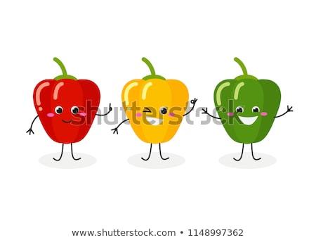 Bell Pepper Characters Stock photo © chrisdorney