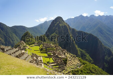 hidden Inca sanctuary of Machupicchu. Cusco, Peru Stock photo © pxhidalgo