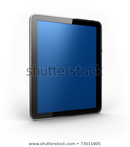 This is my new tablet pc device Stock photo © stockyimages