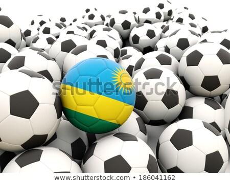флаг Руанда футбола команда стране Сток-фото © MikhailMishchenko