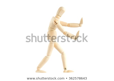 Wooden Puppet Head Stock photo © hlehnerer