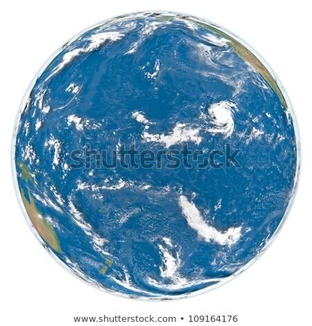 Pacific ocean from space Stock photo © Harlekino