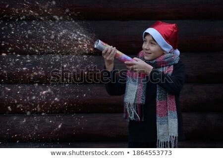 Cüce sparks renkli vektör Stok fotoğraf © derocz