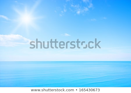 cielo · blu · sole · abstract · verticale · luce - foto d'archivio © adamson