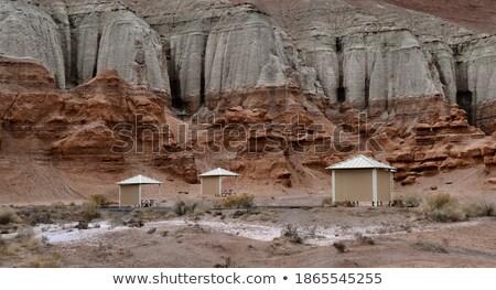 Pique-nique vallée pierres bien attraction touristique Photo stock © photosebia