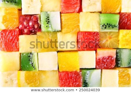 świeże · żywności · liści · tle · tabeli · asian - zdjęcia stock © nejron