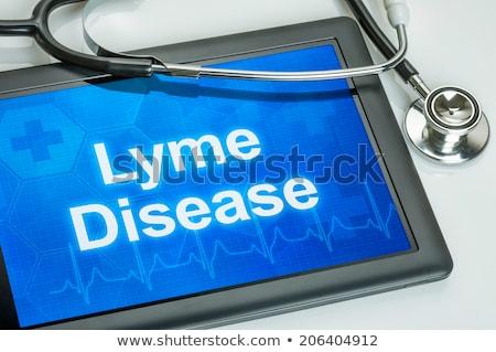 diagnoza · choroba · medycznych · sprawozdanie · czerwony · pigułki - zdjęcia stock © zerbor