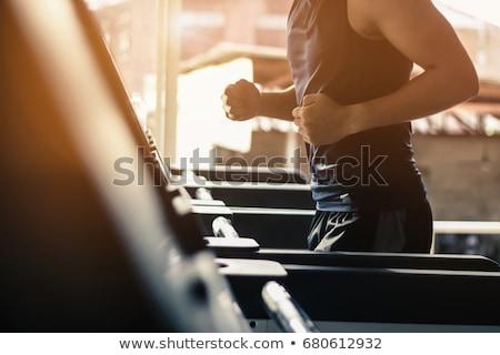 treinamento · esportes · moço · fora · homem - foto stock © pressmaster