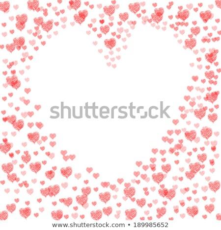 中心 カット 結婚 情熱的な 結婚式 ストックフォト © stuartmiles