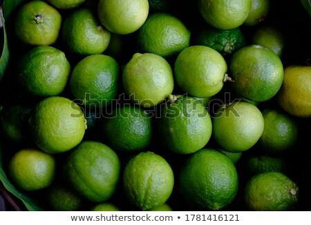 fresco · comida · fruto · fundo · limão · cesta - foto stock © nalinratphi