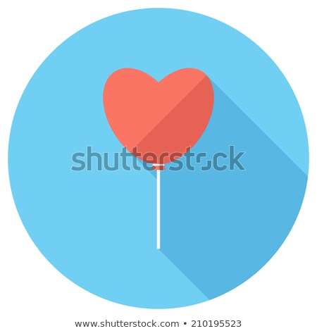 Set valentine's day mobile icons, love on the Internet symbols Stock photo © michalsochor