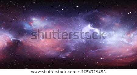 Diep ruimte realistisch planeet gloed sterren Stockfoto © tracer