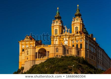 Abadía Austria monasterio río danubio Foto stock © backyardproductions