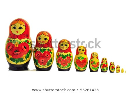 single russian doll stock photo © lucielang