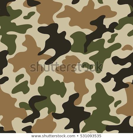 Bezszwowy wzór lasu tle wojny tkaniny Zdjęcia stock © aliaksandra