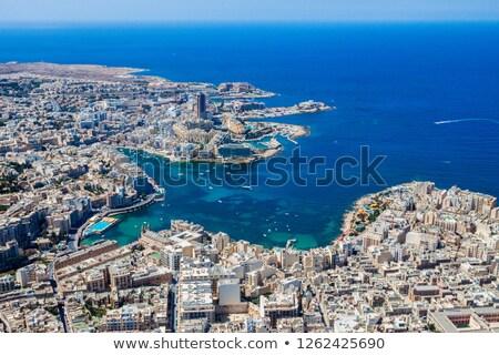Spinola Bay and Portomaso Tower in Saint Julian, Malta Stock photo © anshar