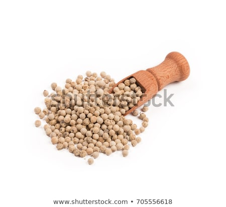mixed peppercorns with a wooden shovel Stock photo © Rob_Stark