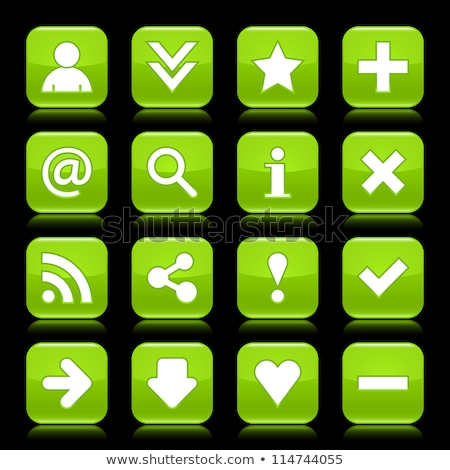 radioativo · assinar · verde · vetor · ícone · projeto - foto stock © rizwanali3d
