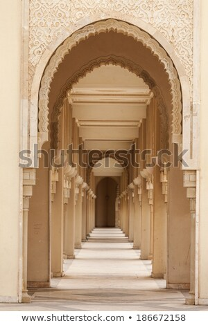 Colonnade In Mosque Stock photo © cosma