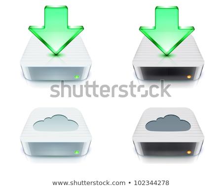 компьютер скачать Жесткий диск диск интернет Сток-фото © netkov1