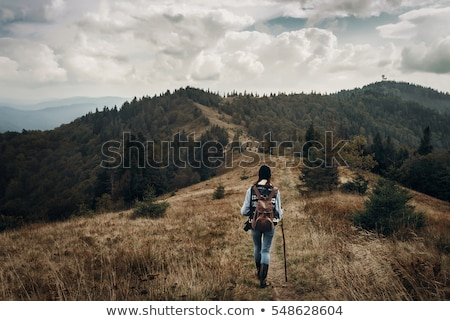 felfedez · természet · kicsi · ázsiai · lány · kamera - stock fotó © stevanovicigor