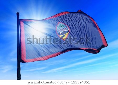 Verenigd Koninkrijk Guam vlaggen puzzel geïsoleerd witte Stockfoto © Istanbul2009