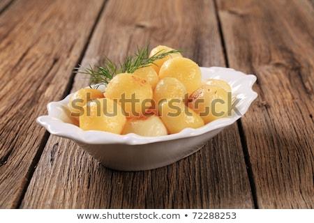 парижский картофель блюдо небольшой картофеля Сток-фото © Digifoodstock