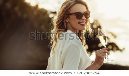 Wealthy woman Stock photo © alphaspirit