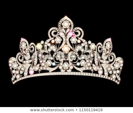 tiara with precious stones  Stock photo © Karamio