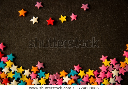 Chrismas Snining Background with Red Little Stars  Stock photo © dariazu
