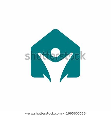 Médico centro logotipo modelo hospital identidade Foto stock © antoshkaforever