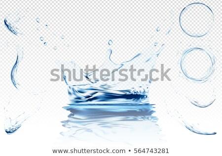 écouter macro eau texture Photo stock © njnightsky