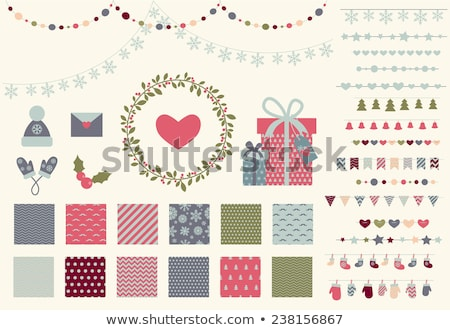 Рождества · гирлянда · фары · прибыль · на · акцию · 10 - Сток-фото © beholdereye
