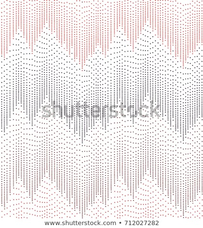Red Squares Modern Seamless Pattern. Stock photo © almagami
