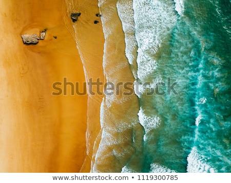 Portugal océan rive roches ciel coucher du soleil Photo stock © joyr