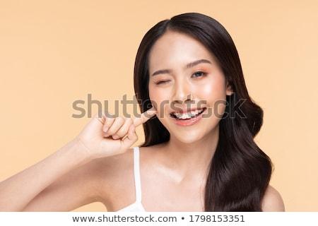 красоту портрет природного азиатских девушки молодые Сток-фото © NeonShot