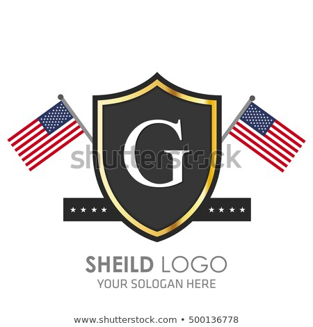Stock fotó: American Independence Day 4th July Template Background For Greeting Cards Posters Leaflets And B