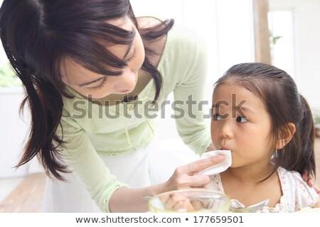 матери рот женщину ребенка весело молодые Сток-фото © IS2