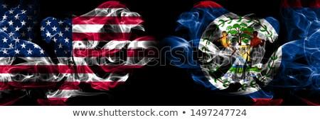 Futball lángok zászló Belize fekete 3d illusztráció Stock fotó © MikhailMishchenko