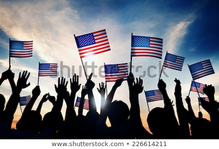 Supporters waving flags Stock photo © IS2