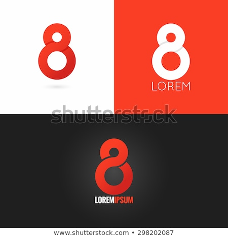 無限 8 番号 芸術 にログイン シンボル ストックフォト © vector1st