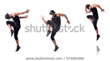 a set of teenage dance stock photo © bluering