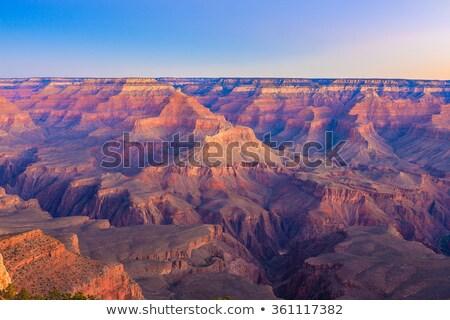 早朝 · グランドキャニオン · アリゾナ州 · 自然 · 岩 · 山 - ストックフォト © feverpitch