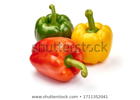 red yellow green bellpepper stock photo © nuttakit