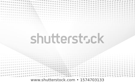 Abstract background with dots lines. Vector particles. Halftone wavy line For business, science, tec Stock photo © fresh_5265954