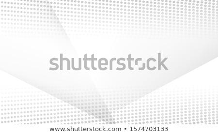 Abstract linee vettore particelle mezzitoni ondulato Foto d'archivio © fresh_5265954