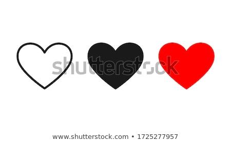 Rosso cuore simbolo amore medico medici Foto d'archivio © barbaliss