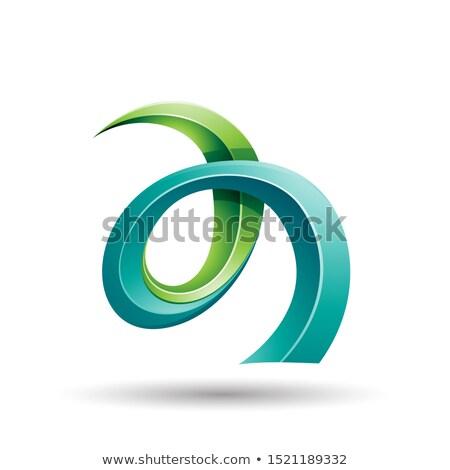 光 暗い 緑 ツタ のような ストックフォト © cidepix